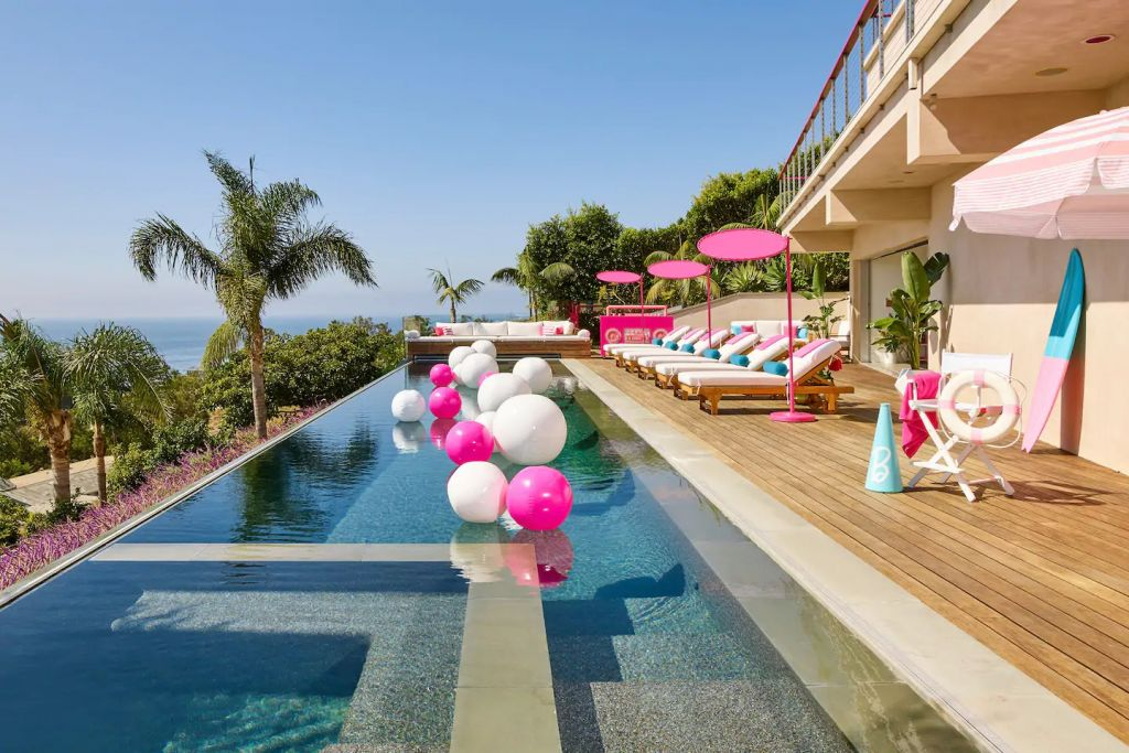 Barbie Malibu Dreamhouse Infinity Pool Airbnb