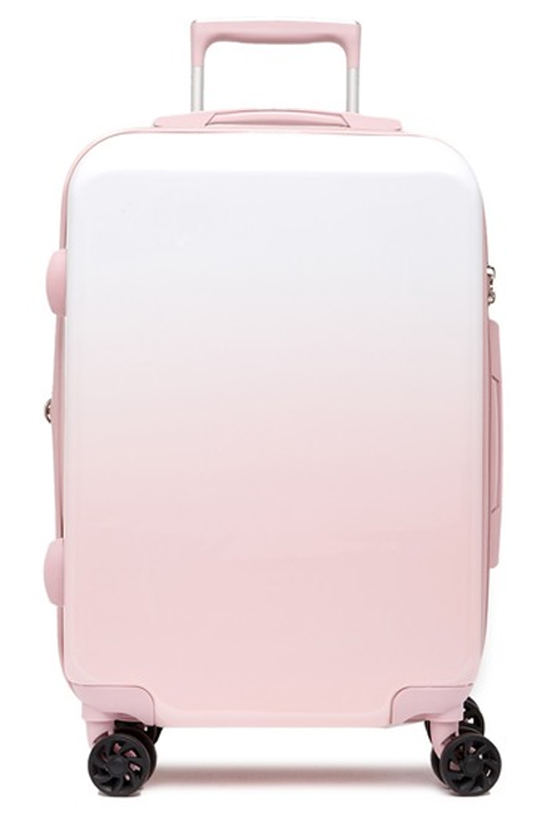 "Calpack Luggage Brynn 20"" Carry-On Hardside Spinner in Pink"