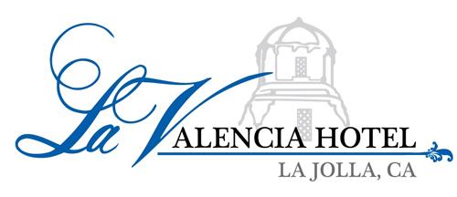 La Valencia Hotel Logo in La Jolla Southern California