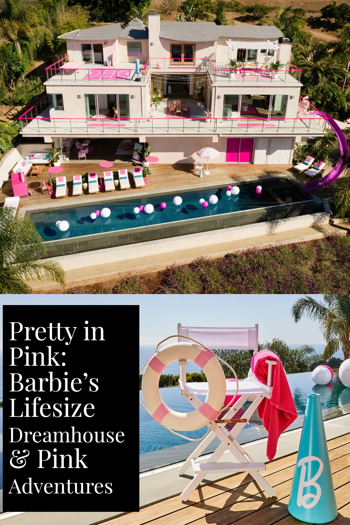 Pretty in Pink: Barbie's Lifesize Dreamhouse and Pink Adventures