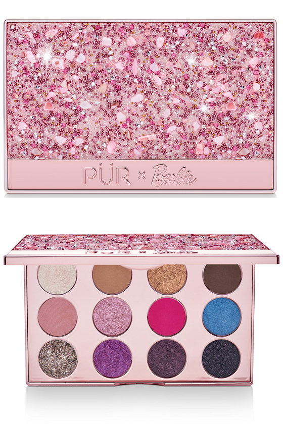 PUR Barbie Endless Possibilities Pressed Pigments Palette