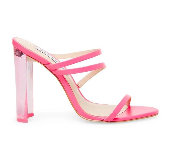 Steve Madden Radiance Pink Neon Sandal