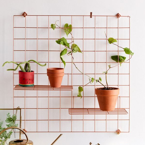 Urban Outfitters Wire Wall Square Grid