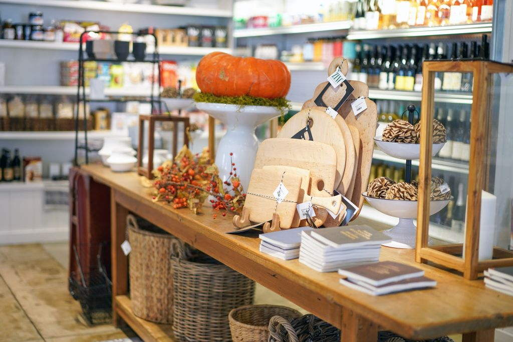 Zinc Cafe and Market, Fall Gifts