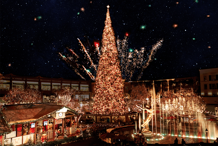 Americana at Brand, Christmas Tree Lighting
