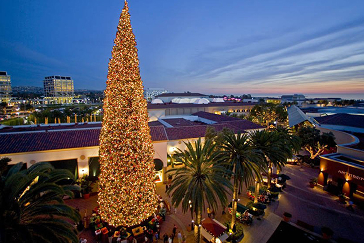 Fashion Island, Christmas Tree Lighting
