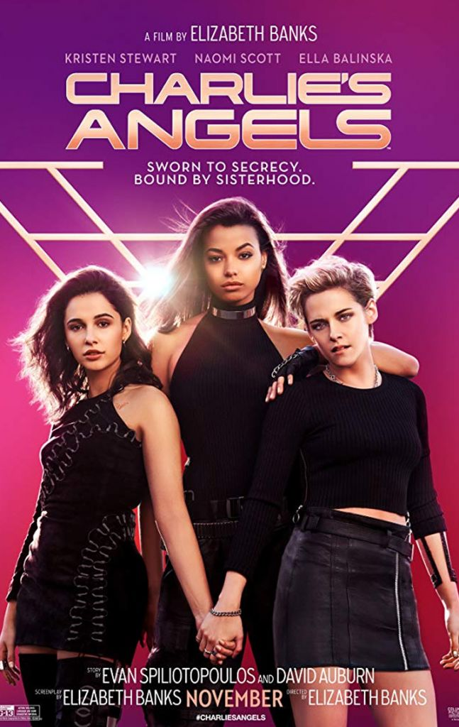 Charlie's Angels 2019 Movie Poster