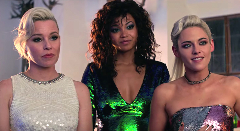 Charlie's Angels 2019 Movie Sparkly Dresses
