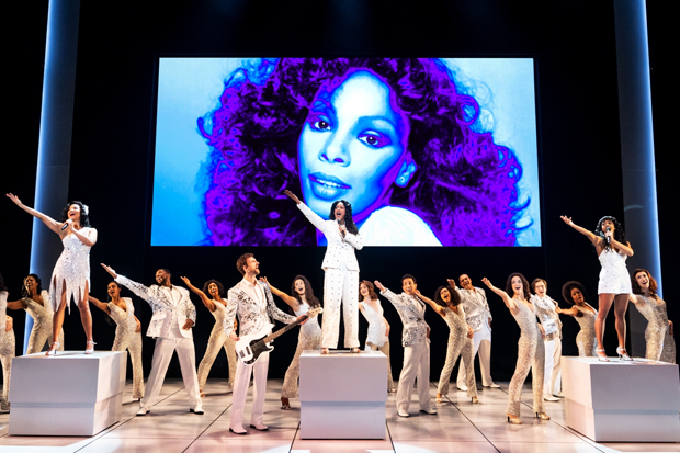 he Donna Summer Musical Silver Dresses