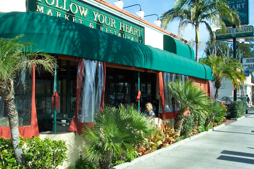 Follow Your Heart Restaurant Exterior