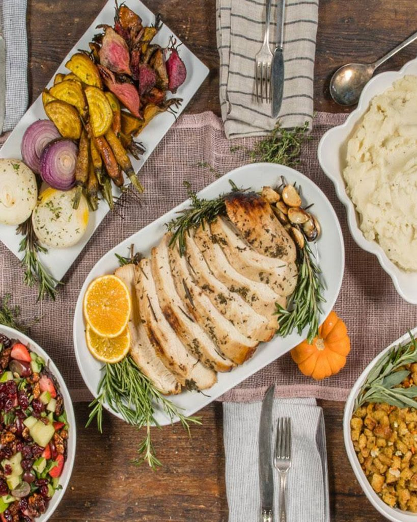 Greenleaf Chopshop Thanksgiving 2019 Catering
