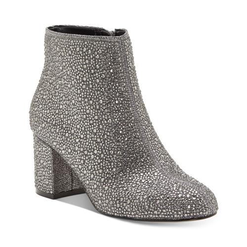 INC Floriann Block Heel Bootie, Created for Macy's