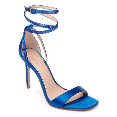 Jewel Badgley Mischka Shaylee Crystal Embellished Sandal