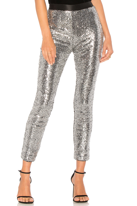 NBD Got That Spark Legging in Shiny Gunmetal, XXS
