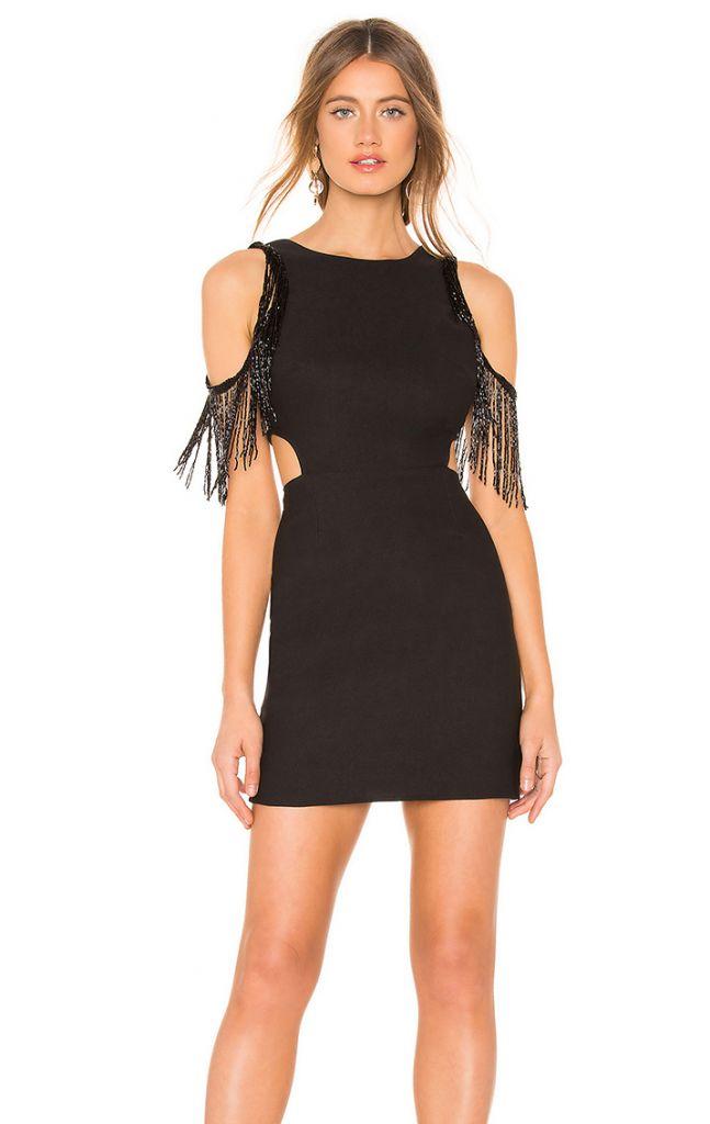 NBD X Naven Libby Black Dress