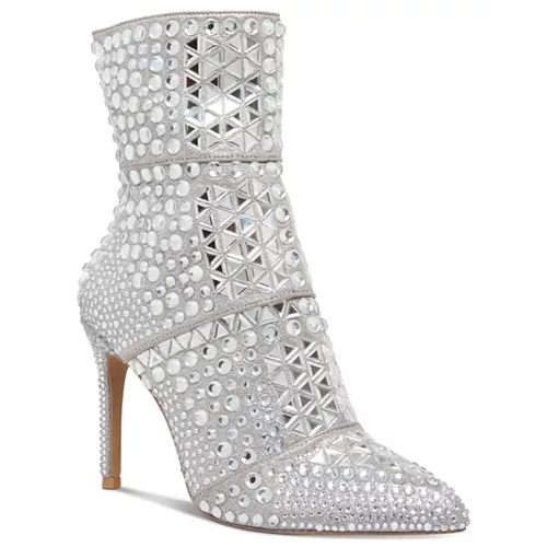 Steve Madden Women's Crossing Rhinestone Booties