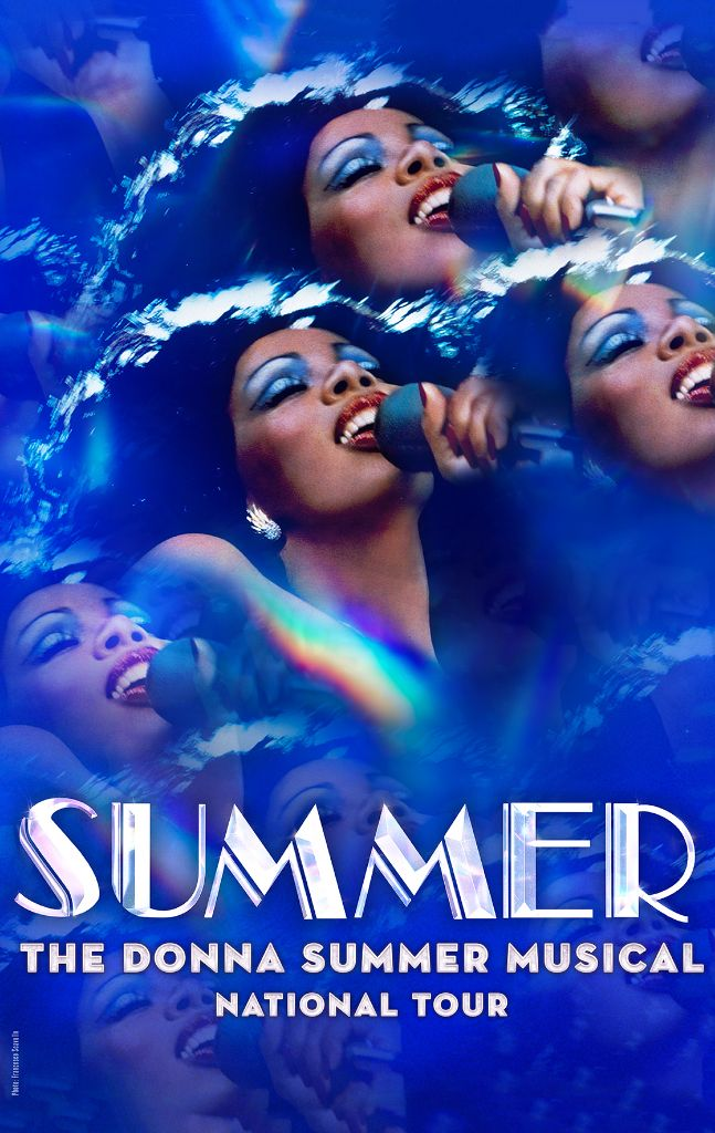 The Donna Summer Musical National Tour Poster