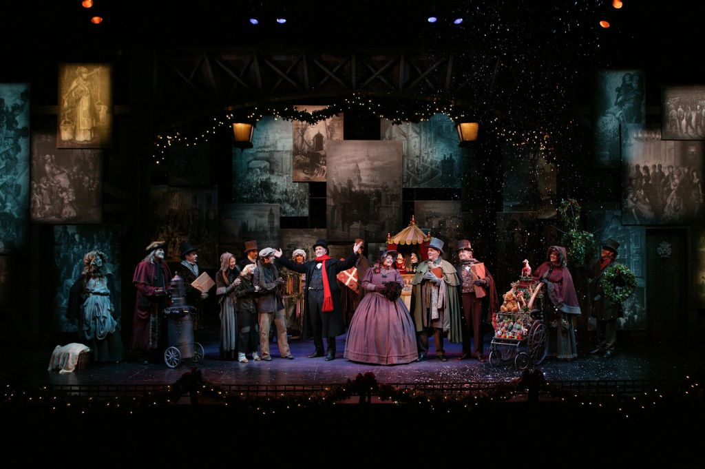 A Christmas Carol, South Coast Repertory 2014