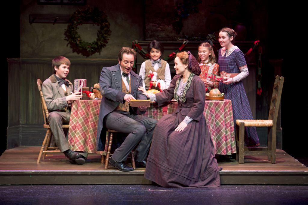 South Coast Repertory A Christmas Carol Cratchit Family