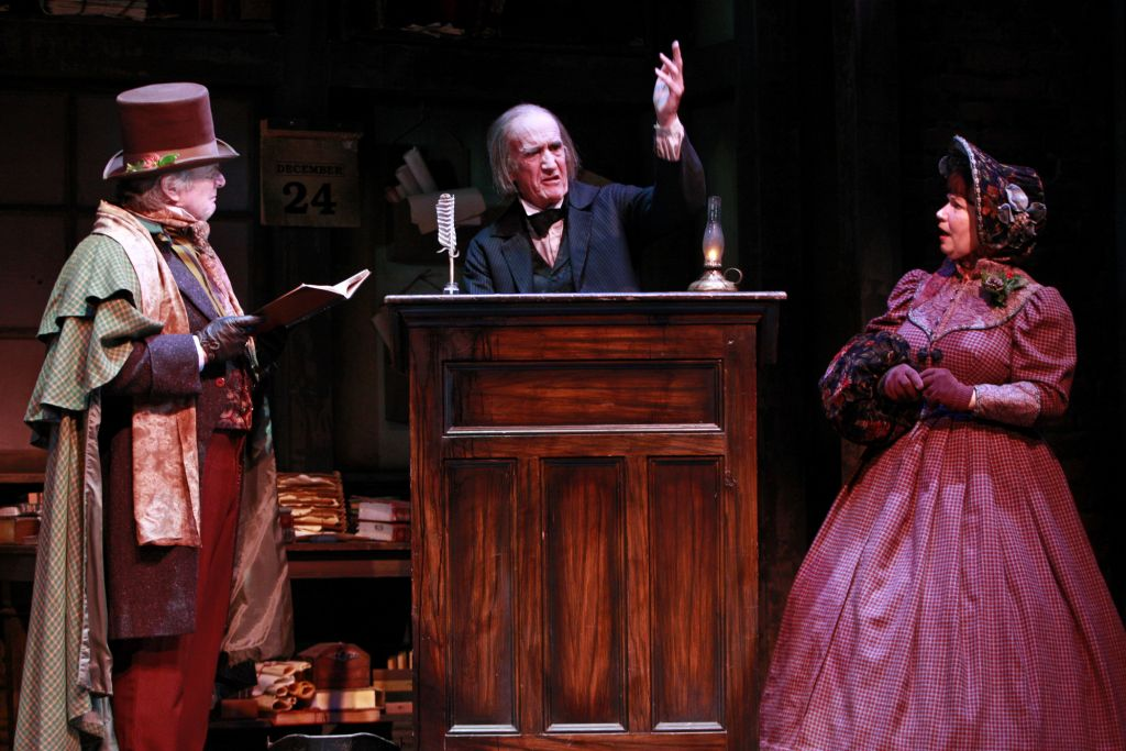 South Coast Repertory A Christmas Carol Scrooge Office Set