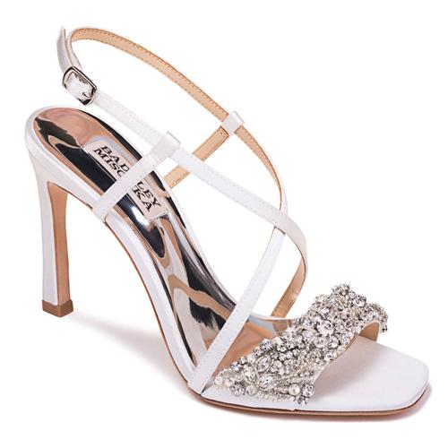 Badgley Mischka Elana Embellished Slingback Sandal