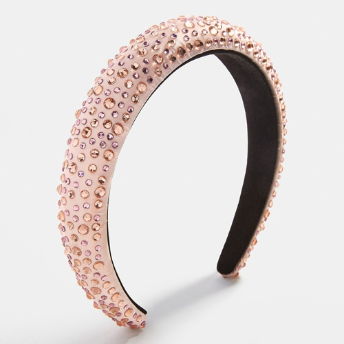 Bauble Bar Lily Crystal Blush Headband
