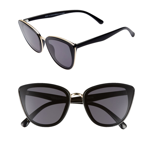 BP 59mm Perfect Cat Eye Sunglasses