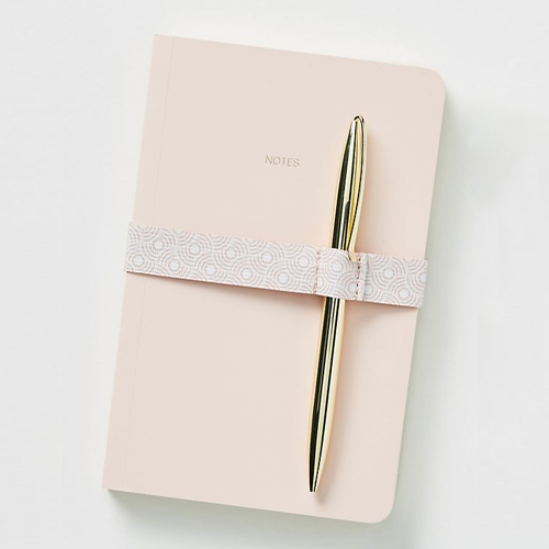 Kayla Rose Colored Journal and Pen Set -$14.95 Anthropologie