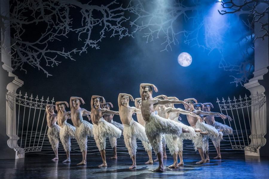 Matthew Bourne Swan Lake Ahmanson Theatre