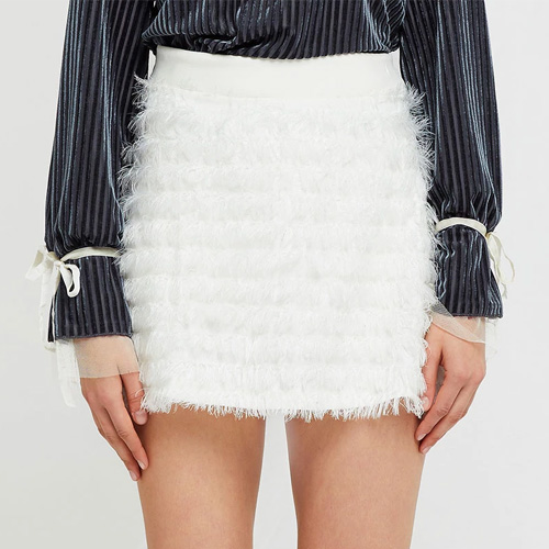Storets Albina Feathered Skirt
