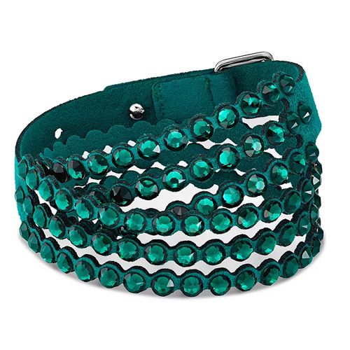Swarvoski Power Collection Crystal Layered Bracelet
