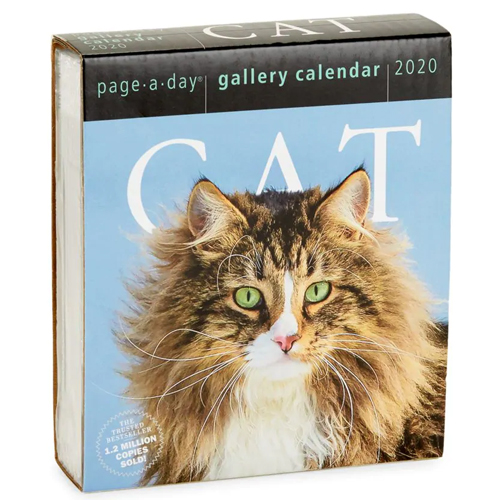 Workman Publishing Cat Page-A-Day Gallery Calendar