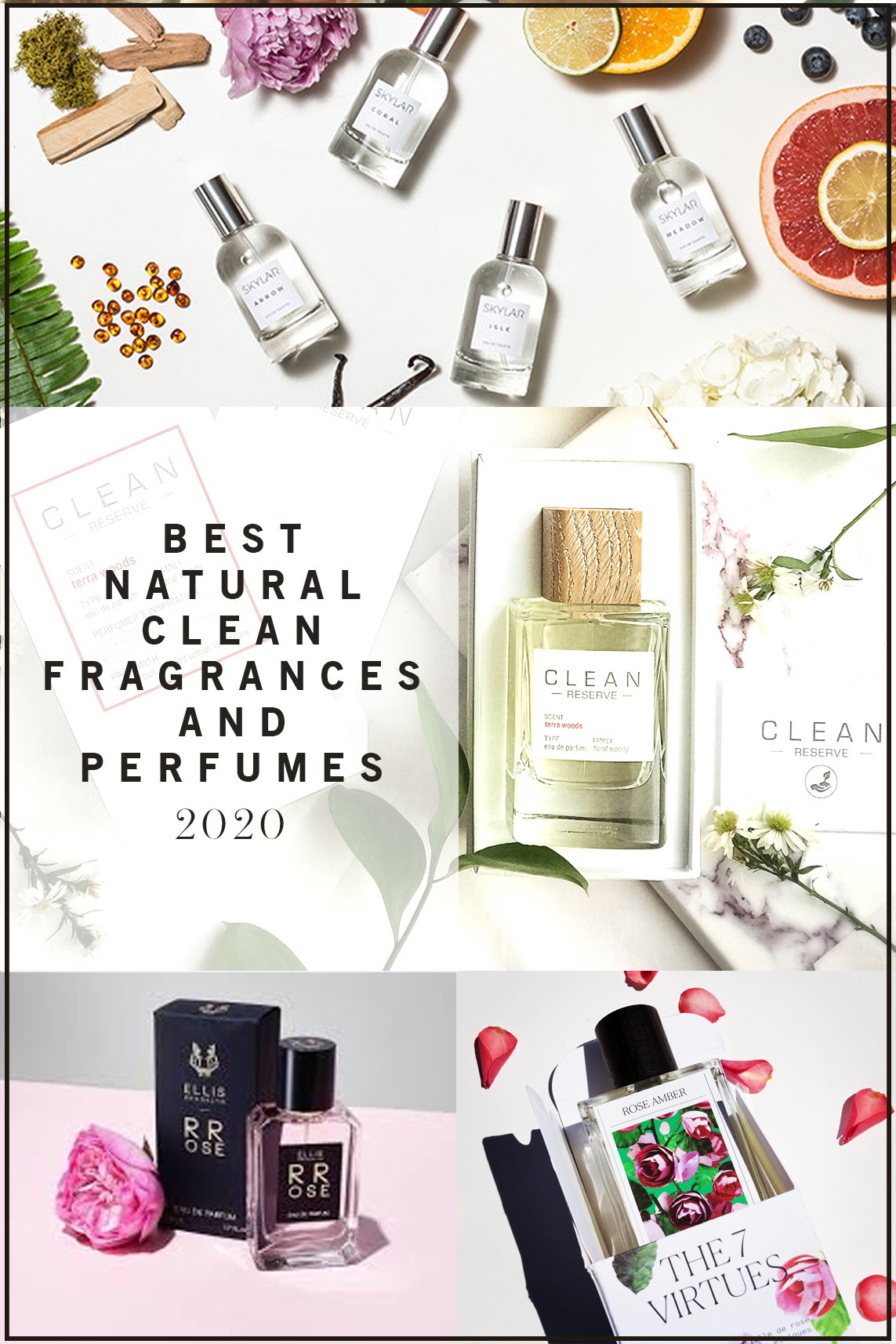 Best Natural Clean Fragrances and Perfumes for 2020 and Beyond