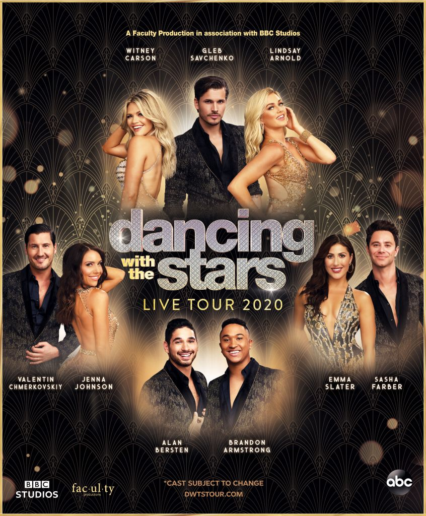 Dancing with the Stars Live Tour Poster