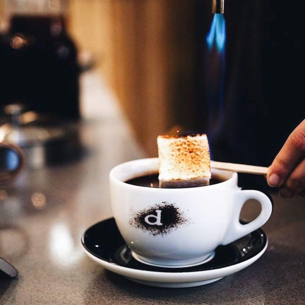 Demitasse Liquid Lavender Hot Chocolate