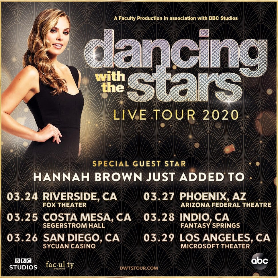 Dancing with the Stars Live Tour with Hannah Brown