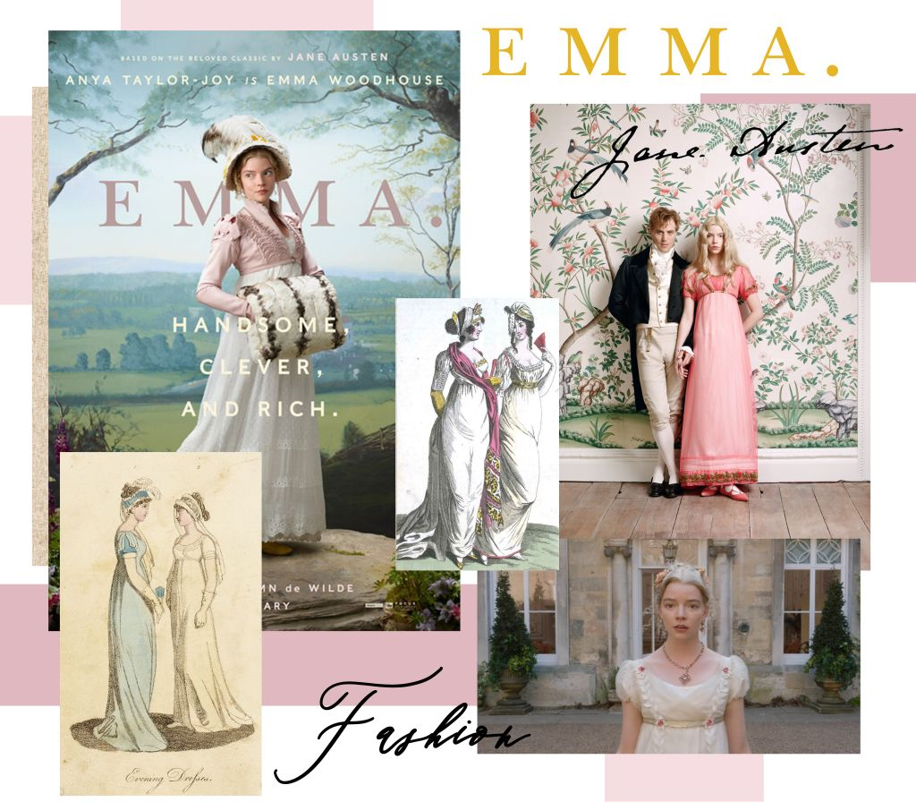 Focus Feature's Emma. Poster, Autumn de Wilde, Vogue, February 2020 (top right)