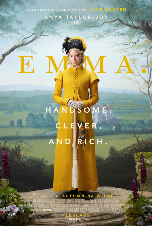 Emma 2020 Movie Poster, Focus Features