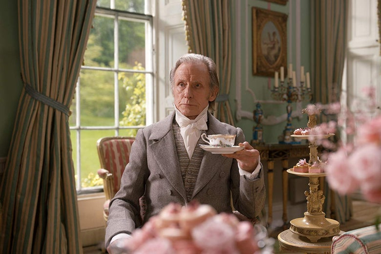Focus Features's Emma. Movie, Bill Nighy stars as 'Mr. Woodhouse'