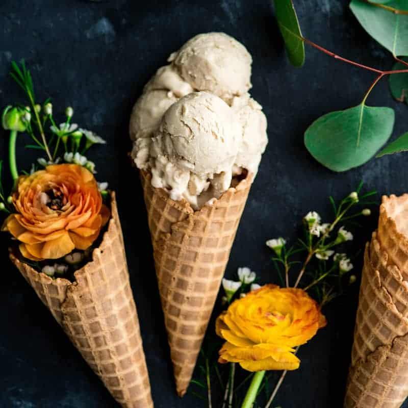 Homemade Dairy-Free Vanilla Ice Cream