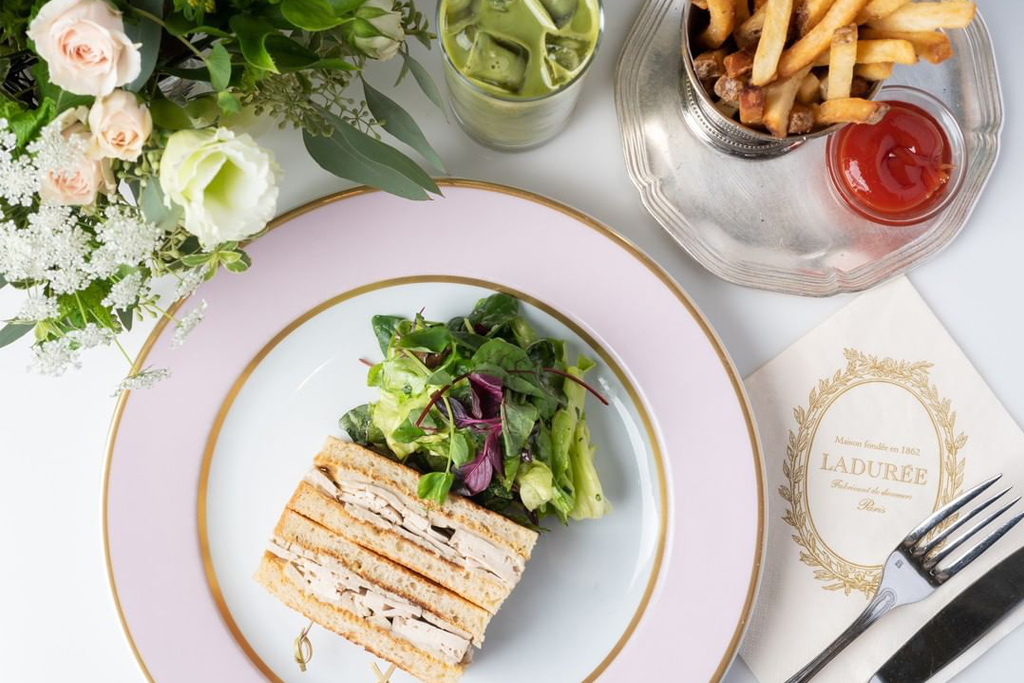Laduree Beverly Hills Vegan Food
