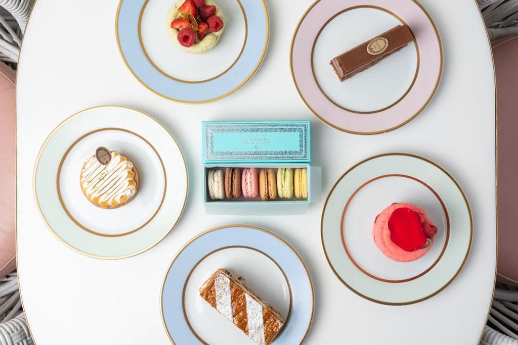 Laduree Beverly Hills Dessert Selection