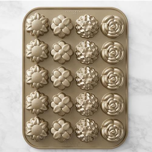 Nordic Ware Flower Petits Fours Pan