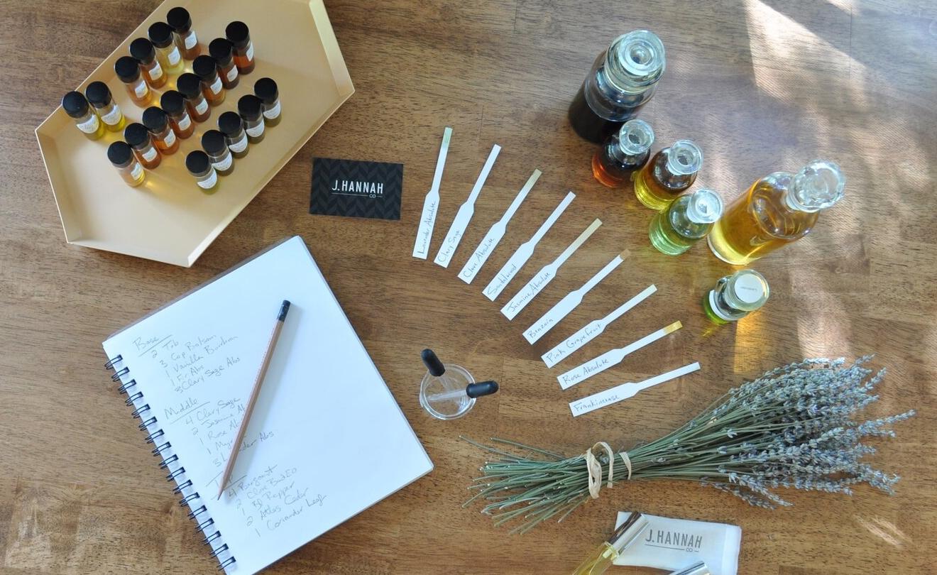 Orris Perfumery Los Angeles Workshop Natural Clean Fragrances, J Hannah
