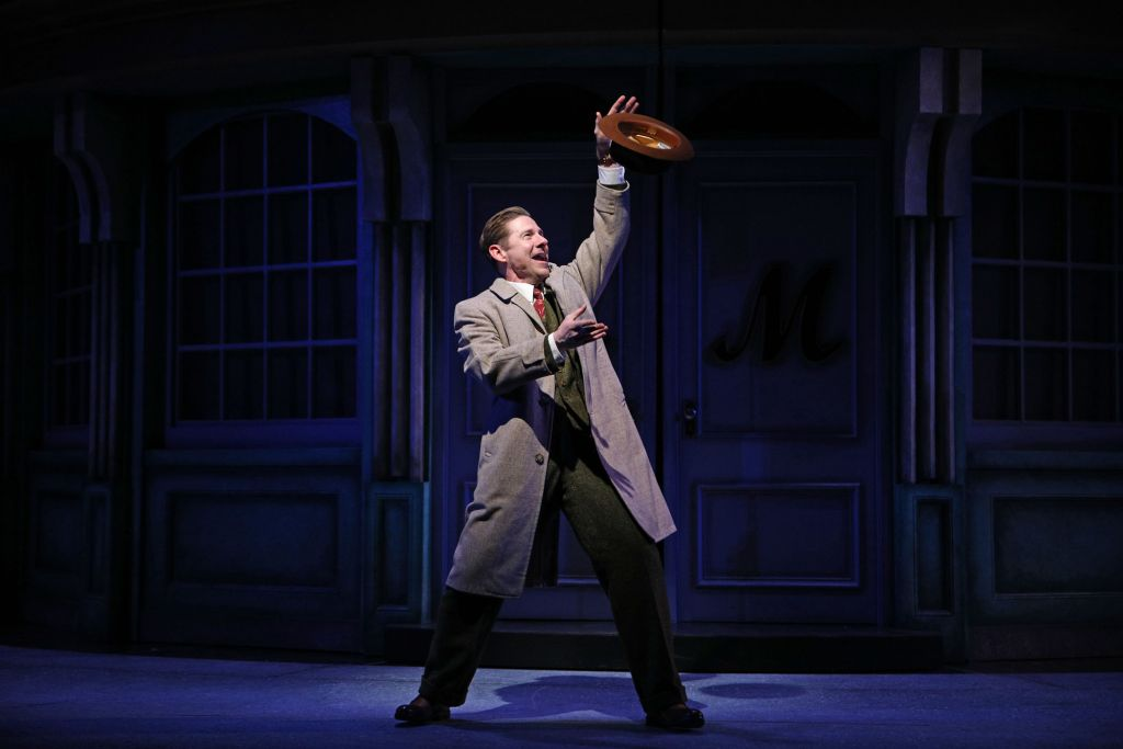 Brian Vaughn in South Coast Repertory's 2020 ​production of ​She Loves Me | Photo by ​Jordan Kubat/SCR.