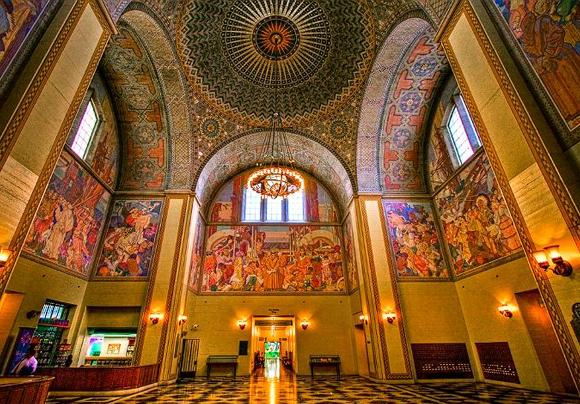 Los Angeles Public Library Interior
