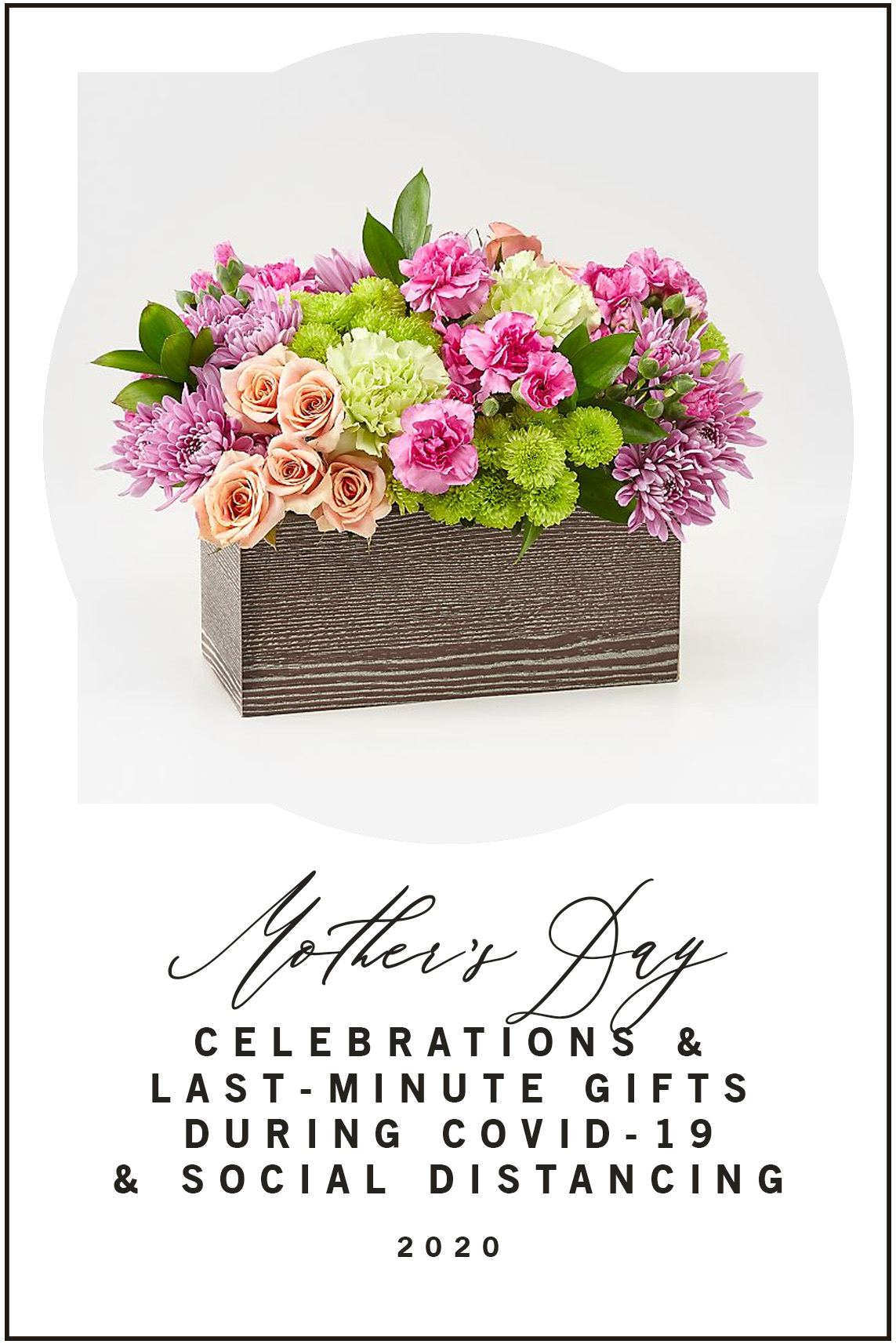 Mother's Day Celebrations and Last Minute Gifts During COVID-19 and Social Distancing 2020