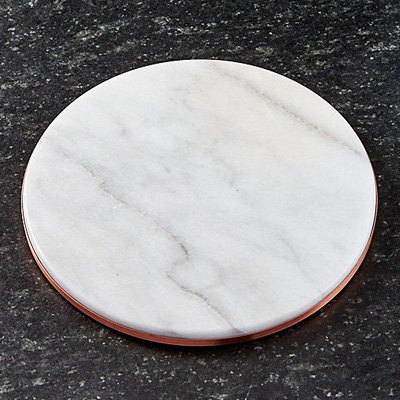 crate-and-barrel-marble-copper-trivet