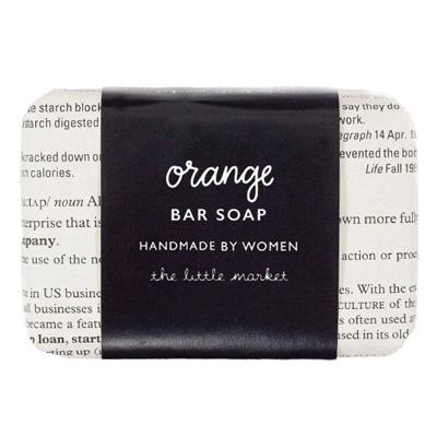 The Little Market Orange Bar Soap