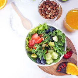 Summer Salad with Orange Citrus Dressing